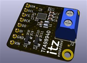 TFA9894D I2S 5.6W Amplifier Breakout (Ver. A)