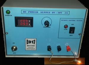 DC Laboratory power supply 0V-30V 5A and remote control tester