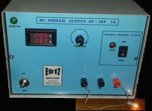 DC Laboratory power supply 0V-30V 5A and remote control tester