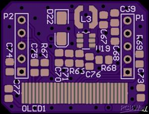 OLED PCB for Unisolder 5.2 by Sparkybg