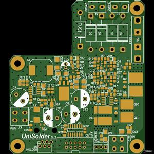 Back/Power PCB for Unisolder 5.2 by Sparkybg