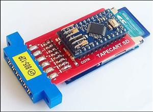 Tapecart SD is a Easy to Use Commodore 64 SD Card Loader.