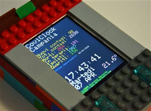 Coviclock - Table clock-calendar