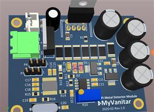 Digital PI Metal Detector Module