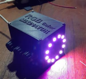 NeoPixel RGB Mixinator