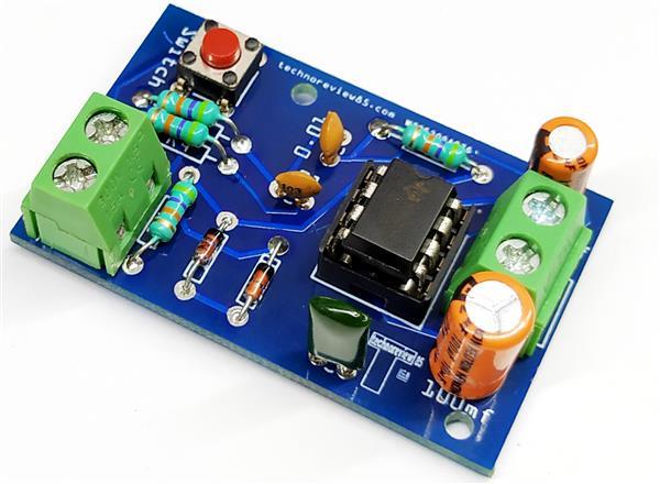.. Pcb. + Buzzer Audio- // Klangschaltung Ding-Dong Türklingel Bausatz DIY