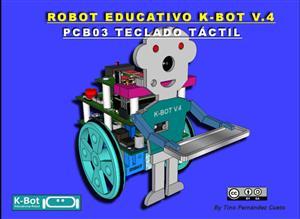 ROBOT K-BOT V.4 - PCB03 TECLADO TACTIL