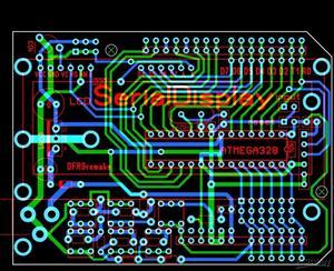 Serial Display LCD 16x2 monitor