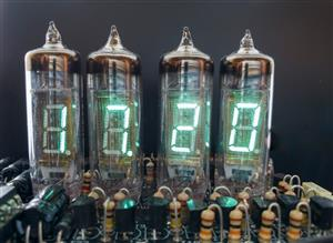 VFD Shield for Arduino: Clock, Thermometer, Volt Meter