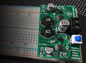 TPS5430 Positive and Negative +5V, -5V, 2A Board