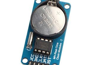 Real time clock DS1302