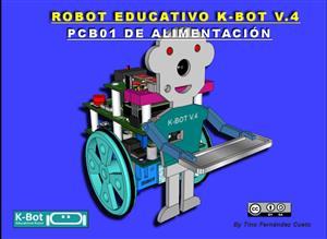 ROBOT K-BOT V.4 - PCB01 DE ALIMENTACION