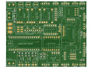 OpenRobot - Multipurpose Arduino PCB