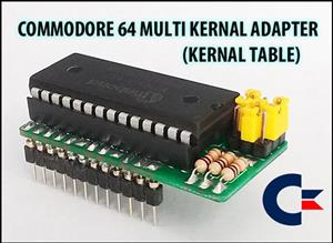 COMMODORE 64 - KERNAL TABLE (901227 KERNAL ROM REPLACEMENT ADAPTER)