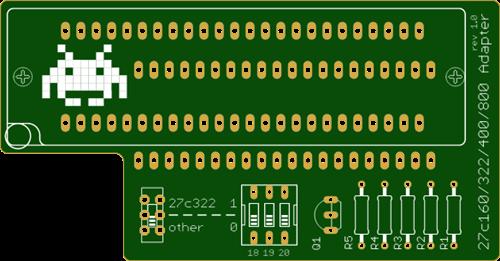 Adapter for TL866 Minipro EPROM Programmer 27C322 27C160 27C800 27C400