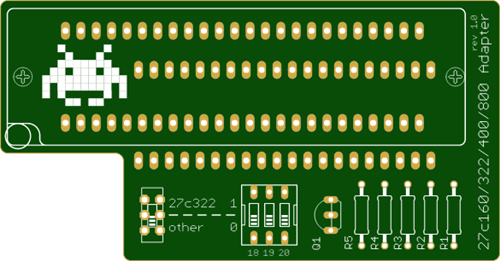 TL866 27c400/800/160 Adapter