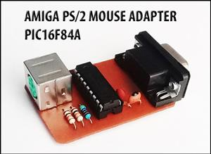 AMIGA PS/2 MOUSE ADAPTER - PIC16F84A