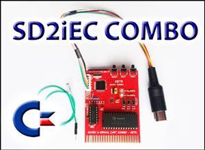 COMMODORE 64 SD2iEC & KERNAL CART COMBO
