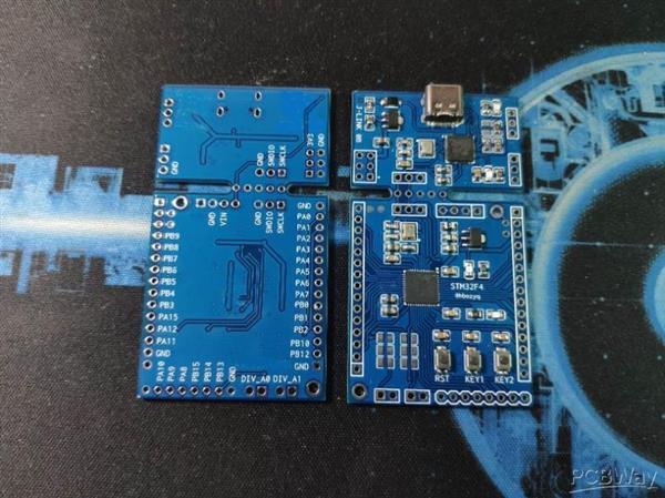 STM32F411Cx  401Cx minimum system + J-LINK debugger