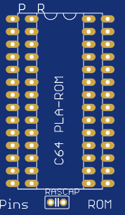 C64 PLA  to ROM adapter