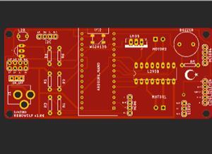 roboWOLF started kid with arduino nano