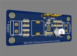 MP3429-Single lithium boost module