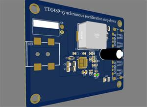 TD1489-synchronous rectification step-down