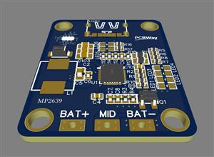 MP2639 lithium charging and discharging board