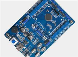 Microcontroller minimum system board-STM8S105C6T6