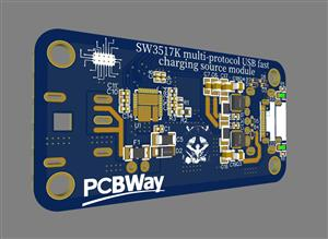 SW3517K-USB fast charging source module