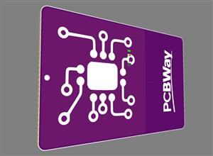 PCB business card based on nfc