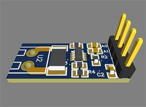 INA219 current and voltage detection module