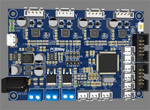 3D printer motherboard