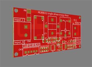 HLW8032 single phase energy Meter (UART) module
