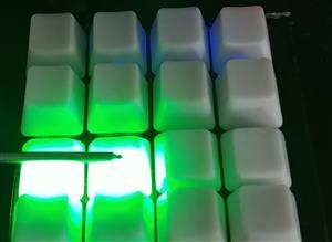 Macro keypad 4x4 matrix with stm32