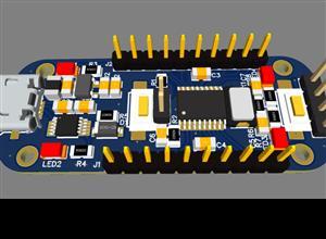 GD32F130 minimum system board