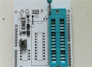 AVR high voltage parallel programmer