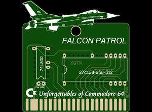 C64 FALCON PATROL CARTRIDGE