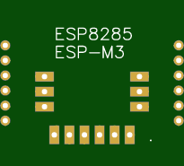 Adapter board for ESP8285 M3
