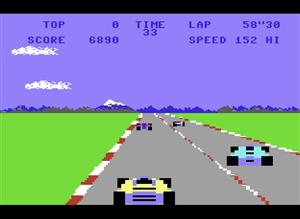 C64 POLE POSITION CARTRIDGE