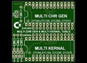 C64, MULTI LANGUAGE CONVERTER ROM TABLE.