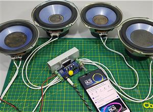 Amplificador de audio de 4 canales