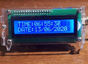 GPS UTC clock