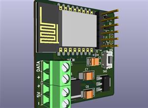 ESP8266 WS2812FX Controller