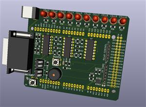 Arduino MEGA Battery Cell Monitoring Shield