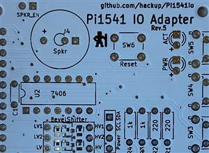Pi1541 IO Adapter, Rev.5