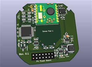 RFM69 Livolo 1 channel eu switch