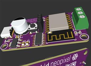 Apple HomeKit ESP8266 WS2812FX USB Type-C Driver