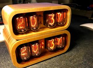 Nixie Clock IN-12 & ESP12(ESP8266) WiFi v2.1