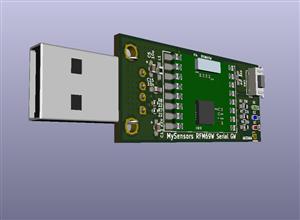 Mysensors RFM69W Serial Gateway (ATMEGA328P)